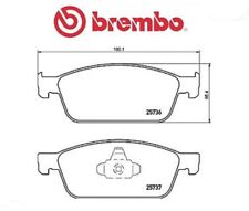 P24157 Kit pastiglie freno, Freno a disco (MARCA-BREMBO)