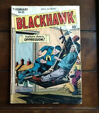 Blackhawk  No.23  Feb 1949
