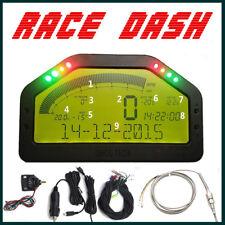 (DPU) Full Sensor Dashboard LCD Screen Rally Gauge - Dash Race Display DO904 12V