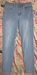 American Eagle Jeans Size 6short Hi-rise Jegging 360 Stretch