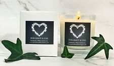 Quinnell Candles Bergamot & Oak - Luxury Candle