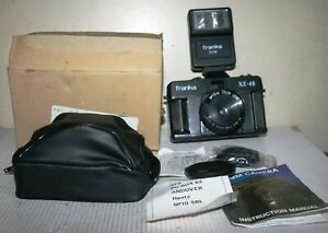 Franka NX-40 - 35mm Film Camera With 214M Flash Instructions & Case - Boxed