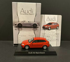 Kyosho 1/64 Scale Audi A3 Sportback Diecast Minicar Model Collection 2 Red