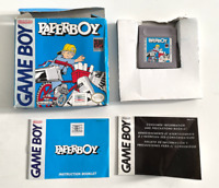 RARE! Paperboy ORIGINAL NINTENDO GAMEBOY Game COMPLETE Tested WORKING! CIB Boxed