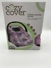 Cozy Cover Infant Carrier Cover, Pink Camo