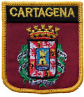 Cartagena Spain Shield Embroidered Patch