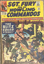 Sgt.Fury and his Howling Commandos #20 Marvel 1965