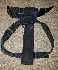 Pet Dog Cat Puppy Adjustable Safety Car Seat Belt Vest Harness Black Size small