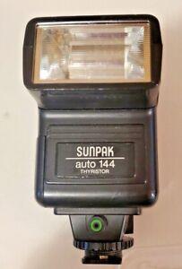 SUNPAK Auto 144 D Thyristor Flash