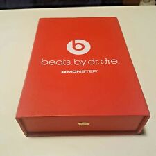 BEATS BY DR DRE MONSTER & INSTRUCTION MANUAL (EMPTY BOX)