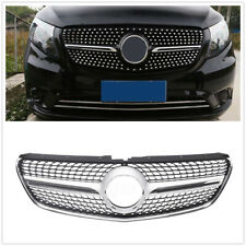 Front Grille Grill For Mercedes Benz V Class W447 2015-18 Diamond W/O Camera UK