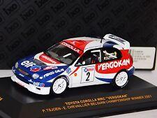 TOYOTA COROLLA WRC VERGOKAN BELGIAN CHAMPION 2001  IXO RAM035  1:43