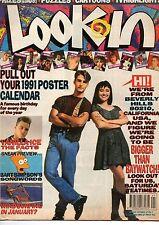 Look-In Magazine 5 January 1991  Beverly Hills 90210 Vanilla Ice Julian Anderson