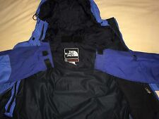 The North Face Mountain Guide Gore-tex XCR Parka Jacket Coat Blue Oxford Nylon