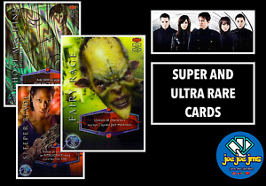 Dr Doctor Who Torchwood Cards - ULTRA and SUPER RARE - Take your Pick