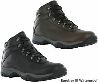 Hi-Tec Eurotrek III Leather Walking Hiking Waterproof Outdoor Boots Mens UK 7-16