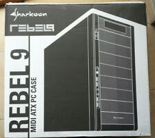Sharkoon Rebel 9 ,PC Gehäuse MidiTowe,4xUSB 2.0,schwarz