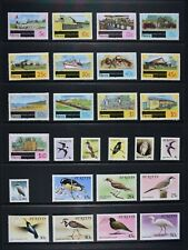 ST. KITTS & NEVIS, a collection of 73 stamps for sorting, UM condition.