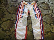 "New Listing1980s Honda/Answer ""Pro-Tection"" Vintage Usa Motocross Pants Sz-30 (Worn Twice)"