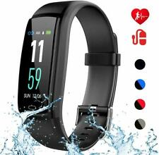 Mgaolo Fitness Tracker Activity Health Tracker Waterproof Smart Watch Wristband