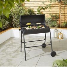 ✅🔥Charcoal Barrel BBQ Grill Barbecue ✅ Thermometer 🚚✅ Free Delivery