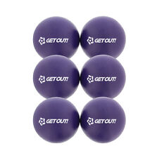 "Get Out™ 6"" Inch Soft Latex-Free Foam Dodgeball Balls 6-Pack Set in Purple"