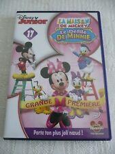 """DVD Disney """"La Maison de Mickey n°17 - Le Défilé de Minnie"""" - Etat Correct"""