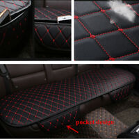 PU Leather Single Rear seat Cushion Interior Accessories Protect Set Chair Mat