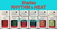 CND Shellac RHYTHM & HEAT 2017 6-pc Set~Mambo Palm Guava Shores Shells Sugar NIB