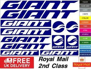 GIANT Bikes S2 Decals, Stickers, Mtb. Cycling, Bmx, Car, Van