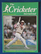 The Cricketer International Magazine - July 1983 - Richard Hadlee Cover