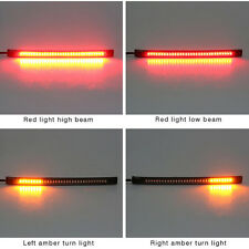 48 LED Universal flexible Motorcycle Light Strip Tail Brake stop/turn sign Light