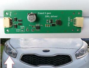 KIA Ceed JD LED Driver DRL Controller Platine zur Reparatur Tagfahrlicht
