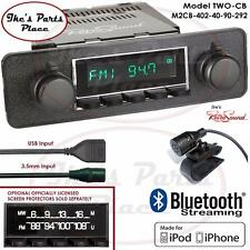 RetroSound Long Beach-CB Radio/BlueTooth/iPod/USB/AUX-In 911/Golf/Bug/BMW/DIN