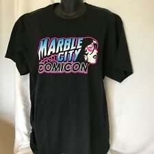 Knoxville Tennessee Marble City Comicon T Shirt Sz Large EUC Comics
