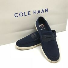 Cole Haan Loafer Nantucket Knit - Navy Blue Size 10.5 C28561