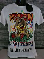 """PHILIPP PLEIN HERREN T-SHIRT ROUND NECK SS """"TEDDY BEAR"""" / L / NEU /"""