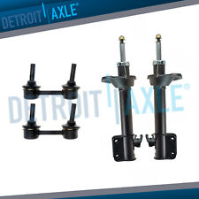 2003-2005 for Subaru Forester Rear Bare Strut Shock Absorbers + Sway Bar Links