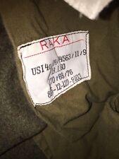 Combat Mens Brown 31/29 Wwii Wool Pants Military German? Raka Cargo~