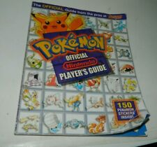 Pokemon Red - Blue Official Nintendo Player's Guide Strategy