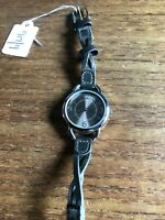 Ladies M&S SS Grey Dial & Platted Straps W917/9