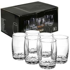 6 PCS 250ml Drinking Tumblers Set Cups with Thick Base for Juice Water Cocktail