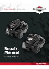 Briggs and Stratton workshop manual