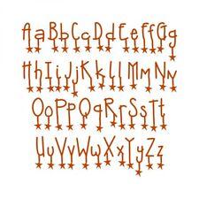 New listing New Sizzix Alphabet Set 9 Dies - Doodle by Dazzle 654818 Retail:$45