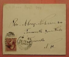 DR WHO 1890 DPO 1879-1895 SOMERVILLE STA MA 147607