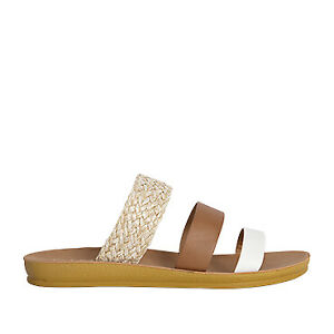 NEW Vybe Heritage Womens Strappy Summer Slide