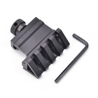 45Degree Angle Tactical Offset 20mm Weaver Rail Mount Quick Picatinny Release WL