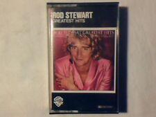 ROD STEWART Greatest hits mc cassette k7 ITALY MAI SUONATA UNPLAYED!!!