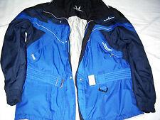 Blaue Damen Skijacke Gr. 40