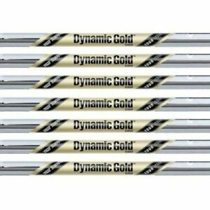 New True Temper Dynamic Gold TOUR ISSUE Steel Golf Iron Shaft Set. .355